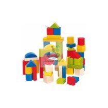 Castel cuburi figurine lemn
