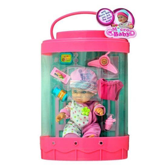 Bebe Poseta Roz cu Accesorii