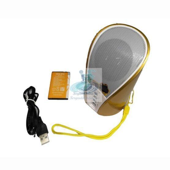 Boxa Portabila Bluetooth Wster WS-133 - Auriu