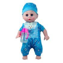 Bebe Baietel cu Sunete Albastru