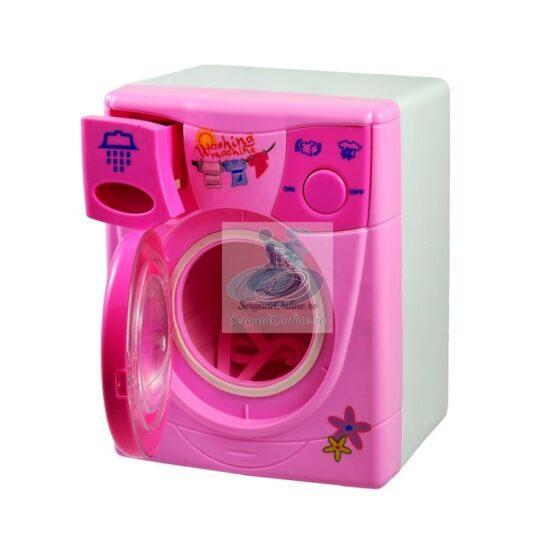 Masina de spalat roz sunete – lumini