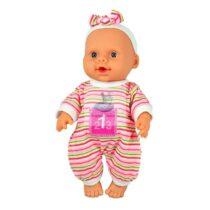 Papusa bebelus roz vorbeste si canta in limba romana