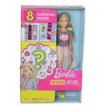 Set joaca Papusa Barbie Careers, cu meserii surpriza