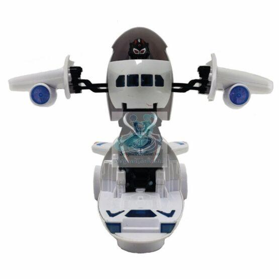Avion Transformer cu lumini si sunete
