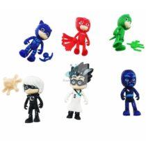 Set 6 Figurine plastic 8 cm