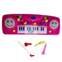 Orga muzicala roz 25 clape si microfon
