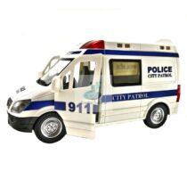 Masinuta politie 22 cm cu sunete si lumini