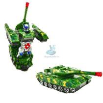 Tanc Transformers 22 cm cu lumini si sunete