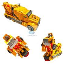 Betoniera Transformers 22 cm cu lumini si sunete