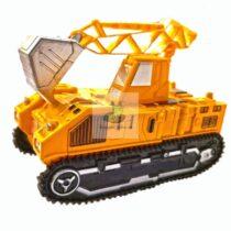Excavator Transformers 20 cm cu lumini si sunete