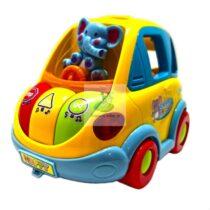 Camion sortator forme si culori cu muzica