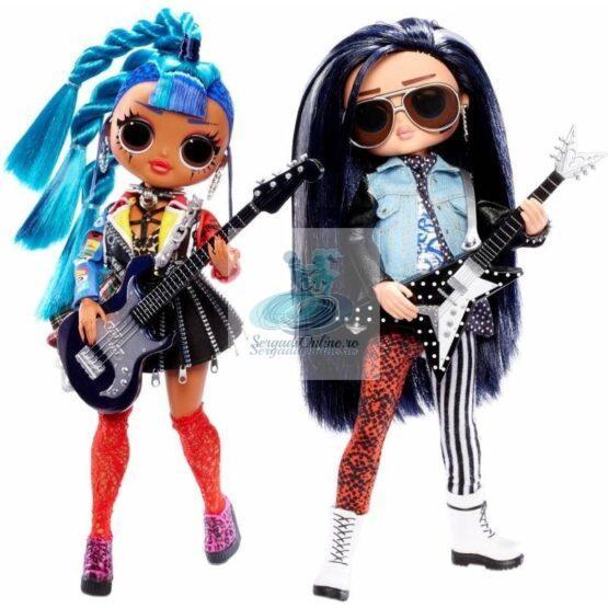 LOL Surprise O.M.G. Remix Rocker Boi and Punk Grrrl -2 Fashion Dolls with Music