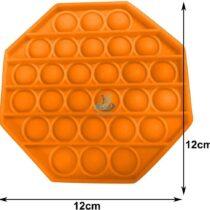 portocaliu octogonal