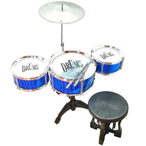 Tobe albastre cu scaunel – instrument muzical pentru copii