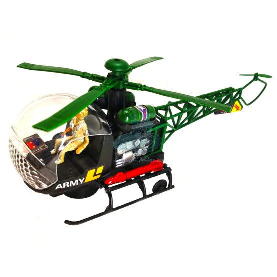 Elicopter 37 cm cu sunete si proiectie lumini
