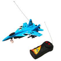 avion-telecomanda-albastru