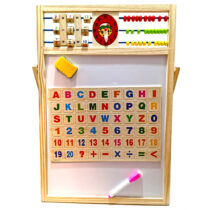 tabla-lemn-magnetica-2-in-1