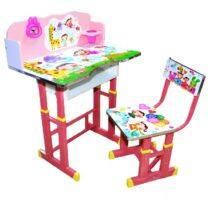birou-copii-girafa-roz